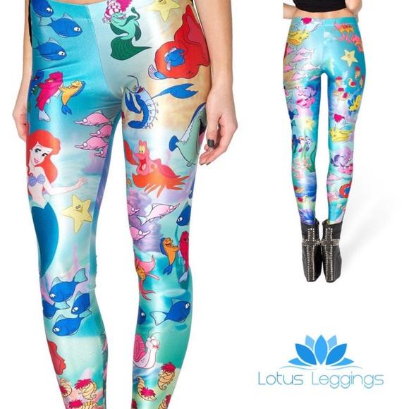 f143b3f763c44a Lotus Leggings Pants | The Little Mermaid | Poshmark